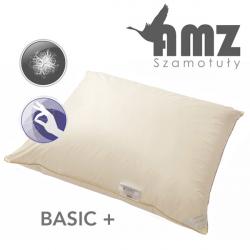 Poduszka trzykomorowa twardsza BASIC PLUS PUCH GĘSI 70% - AMZ