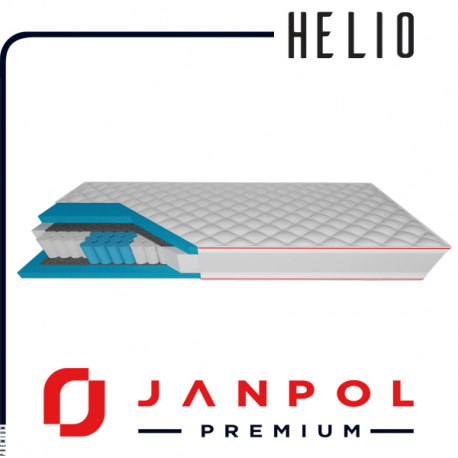 Materac HELIO - JANPOL + GRATIS