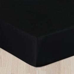 PRZEŚCIERADŁO SATYNA Z GUMKĄ DARYMEX 160x200 (CZARNY)