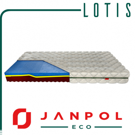 Materac LOTIS - JANPOL + GRATIS