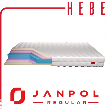 Materac HEBE - JANPOL + GRATIS