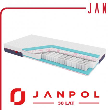 Materac JAN - 30 LECIE - JANPOL + GRATIS
