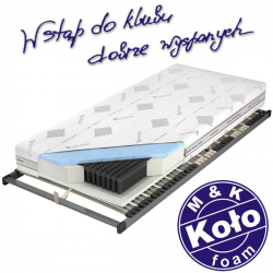 Materac CZAR NOCY TALALAY BLUE  - M&K KOŁO