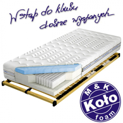 Materac VENUS TALALAY BLUE X7 - M&K KOŁO