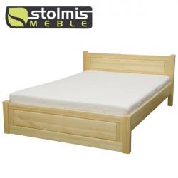 Łóżko drewniane ALEKSANDRYT 2 - STOLMIS