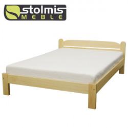 Łóżko drewniane AMETYST 1/1 - STOLMIS
