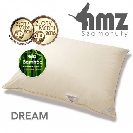 Poduszka DREAM PUCH GĘSI 90% TRZYKOMOROWA - AMZ