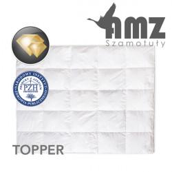 Materac wierzchni TOPPER PIERZE GĘSIE - AMZ