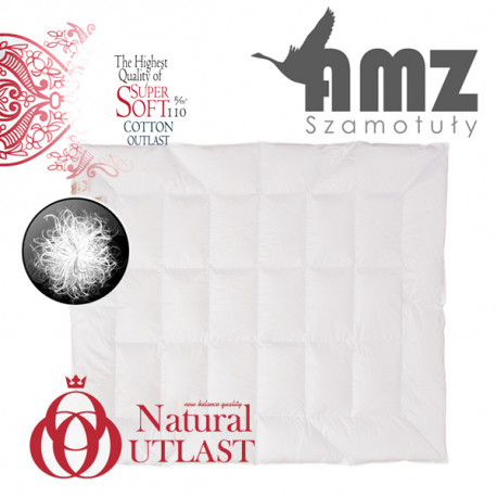 Kołdra całoroczna NATURAL OUTLAST 100% PUCH - AMZ