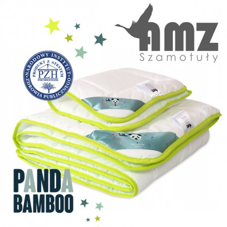 Komplet dziecięcy PANDA BAMBOO ANTYALERGICZNY - AMZ