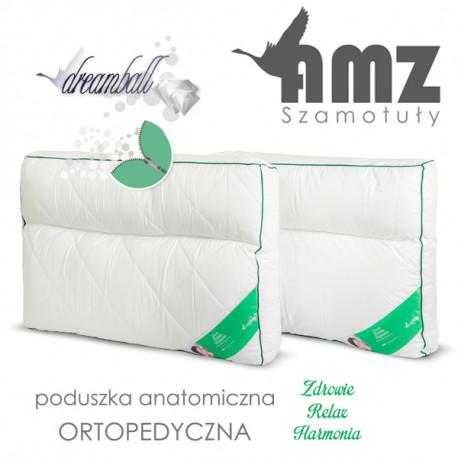 Poduszka mikrofibra MATERACOWA 2-KOMOROWA - AMZ