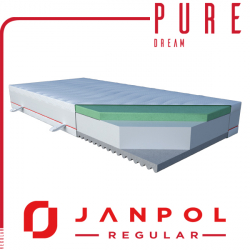 Materac PURE DREAM - JANPOL - RABAT
