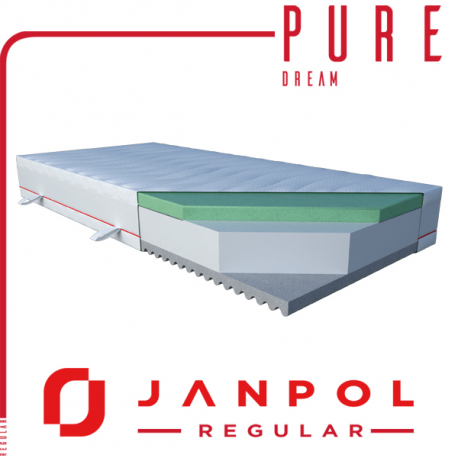 Materac PURE DREAM - JANPOL + GRATIS