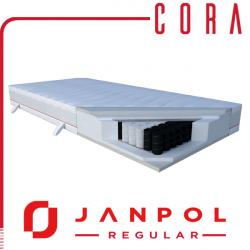 Materac CORA - JANPOL + GRATIS