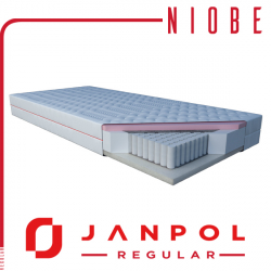Materac NIOBE - JANPOL + GRATIS