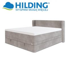 Łóżko kontynentalne box podnoszony z pojemnikiem VINTAGE 95 - HILDING