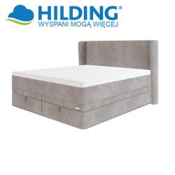 Łóżko kontynentalne box podnoszony z pojemnikiem VINTAGE 115 - HILDING